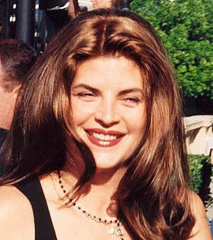 Kirstie Alley on the red carpet at the Emmys