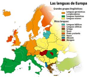 Lenguas de europa