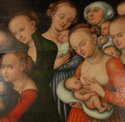 Maria von Lucas Cranach
