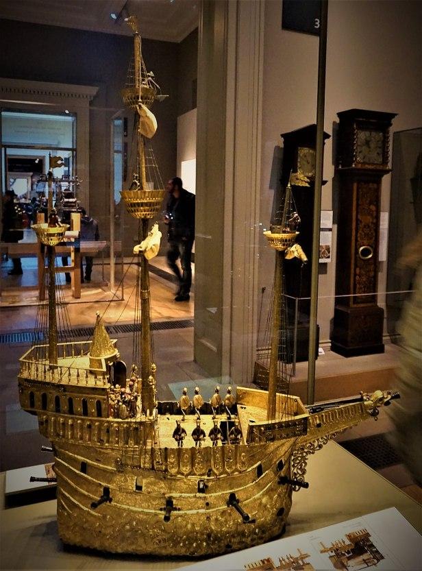 Mechanical Galleon - British Museum - Joy of Museums