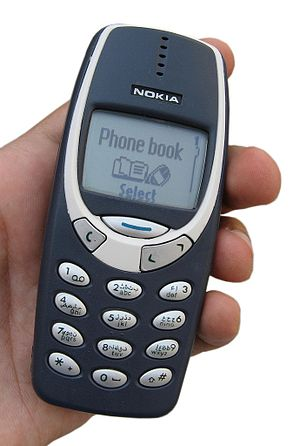 English: Nokia 3310 phone