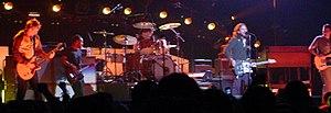 Pearl Jam performing in Toronto, Ontario