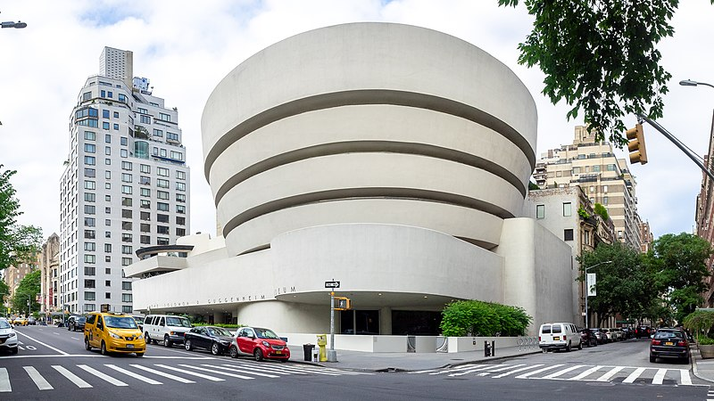 Guggenheim Museum, Nowy Jork / zdjęcie: Ajay Suresh from New York, NY, USA / CC BY (https://creativecommons.org/licenses/by/2.0)