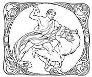 Theseus en de Minotauros