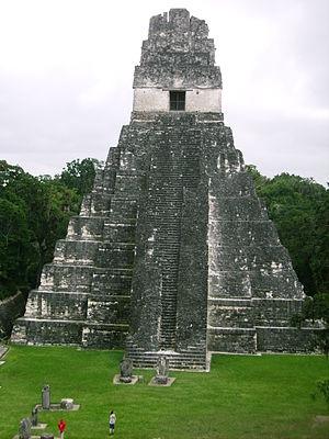Tikal, Guatemal, Temple I,