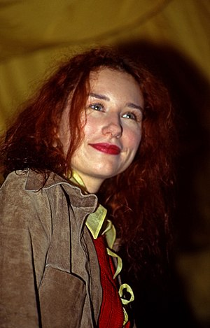English: Tori Amos, 16th February 1993, appear...