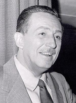 English: Portrait of Walt Disney, 1 January 19...