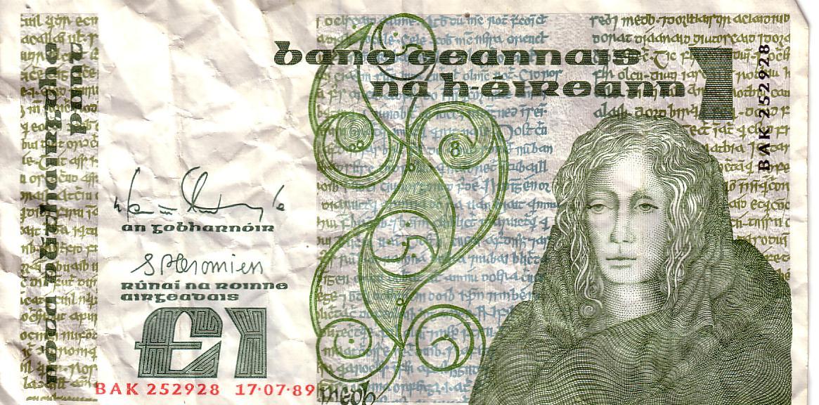 Irish Pound Note Queen Medb