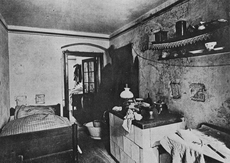 Berliner Kellerwohnung, 1903