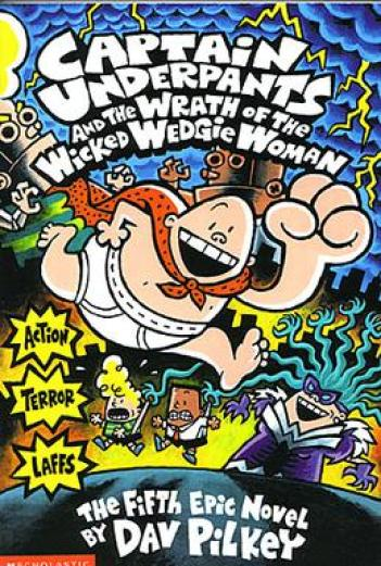 Image result for Captain Underpants and the Wrath of the Wicked Wedgie Woman