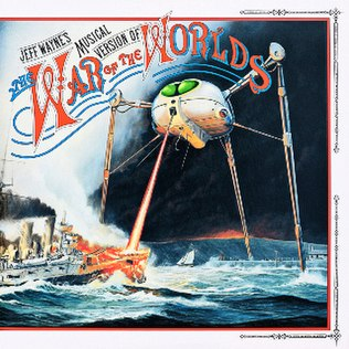 Image result for war of the worlds album