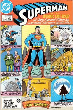 Swan's cover for Superman #423 (September 1986...