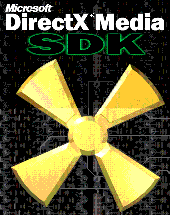 Logo of the DirectX Media SDK – the first time...