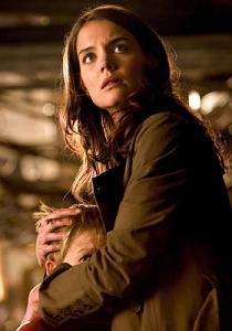 Katie Holmes as Rachel Dawes in Batman Begins