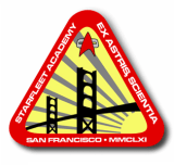 The official logo of Starfleet Academy, circa ...
