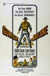 Film Poster from the movie Gunfight in Abilene