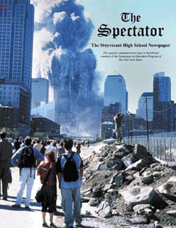 The 9/11 issue of The Spectator.