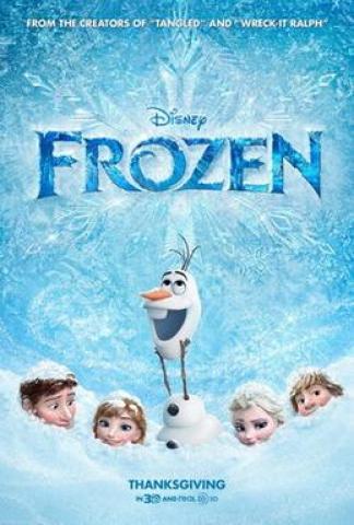 Fozen Poster