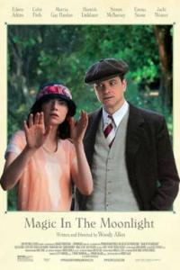 Poster for 2014 romantic comedy Magic in the Moonlight