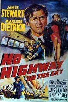 James Stewart in No Highway in the Sky