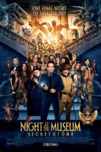 Poster for 2014 comedy threequel Night at the Museum: Secret of The Tomb