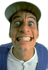 An image of Jim Varney as Ernest P. Worrell