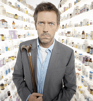 The very strange Dr. House