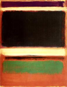 No. 3/No. 13 (Magenta, Black, Green on Orange)...