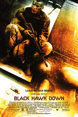 Film poster for Black Hawk Down - Copyright 20...