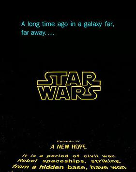 Star Wars - Opening Screen