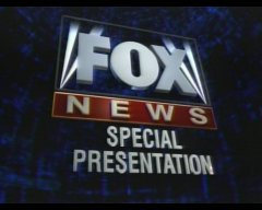 FOX News Special Presentation Title Card. Capt...