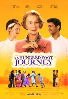 Pòster del film The Hundred-Foot Journey, de Lasse Hallstrom