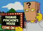 Thomas Pynchon in the Simpsons