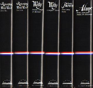 Volumes in the Library of America series
