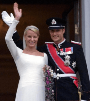 1bc2e877 Wedding of Crown Prince Haakon of Norway and Mette-Marit Tjessem Høiby