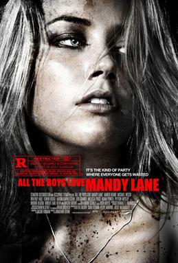 Film poster for All the Boys Love Mandy Lane -...