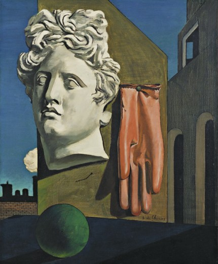 Giorgio de Chirico Song of Love Surrealist painting