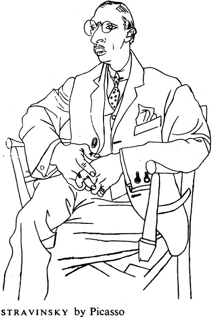 Portrait of Igor Stravinsky, c.