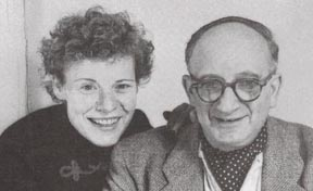 H. A. and Margret Rey in 1951