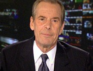 Peter Jennings informing viewers of World News...