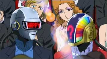 Daft Punk's cameo appearance in Interstella 5555