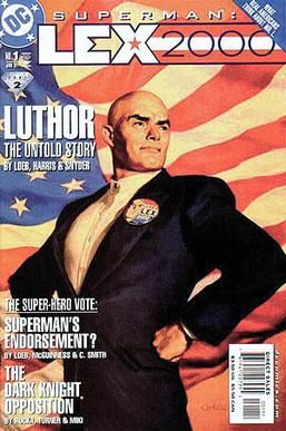 Image result for lex luthor president cover