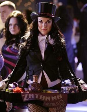 Serinda Swan as Zatanna Zatara on Smallville.