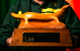 Platypus Trophy following restoration in 2007