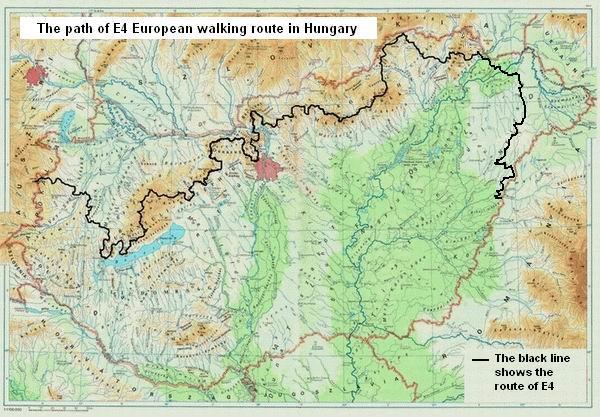 E4 európai túraútvonal