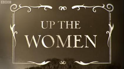 Up the Women title card