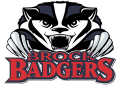 Brock Badgers athletic logo
