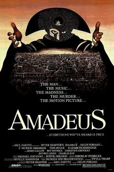 Film poster for Amadeus (film)