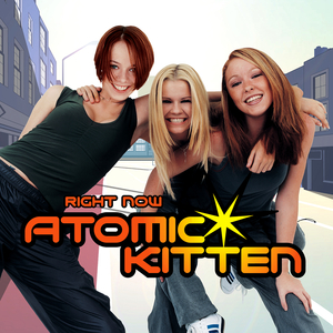 Atomic Kitten Right Now single cover