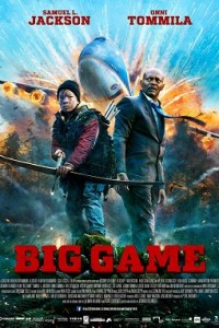 Poster for 2015 action-adventure film Big Game